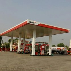 Prefabricated Petrol Pump Canopy