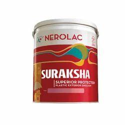 Matt Nerolac Suraksha Plastic Exterior Emulsion Wall Paint, Packaging Type: Bucket