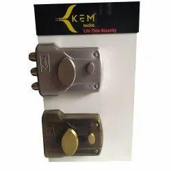 Main Door Kem Security Locks, Powder Coated