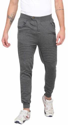 4e63720ebf134d Grey Cotton/Linen Mens Panelled Jogger Pants, Rs 300 /piece | ID ...