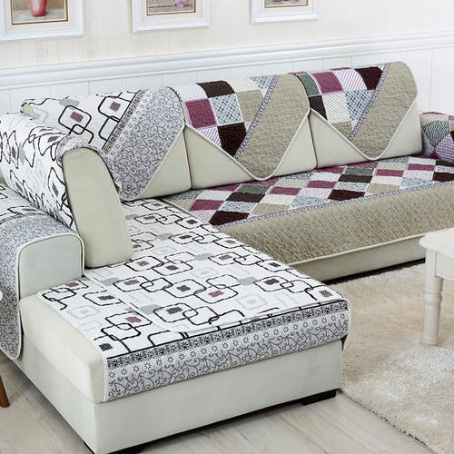 Cotton Horizontal Sofa Covers Size