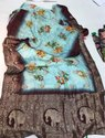6 M (with Blouse Piece) Printed Banarasi Silk Sarees