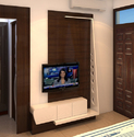 Living Room Wooden TV Unit