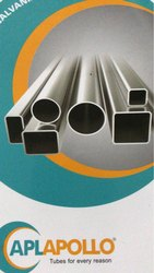 APOLLO Square Pipe, 21.3mm-- 356.6 Mm, Thickness: 1mm To3.5mm