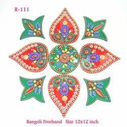 Rangoli Free Hand