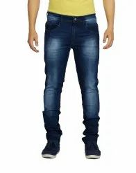 Denim Faded Mens Jeans, Waist Size: 28-36