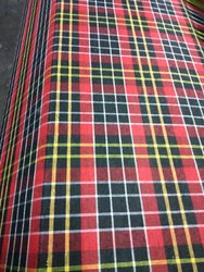 Multi Check Poly Cotton Mattress Fabric, 11Kg500g