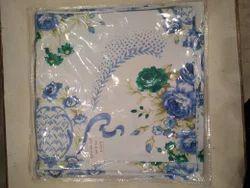 Floral Printed Diwan Cover