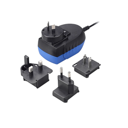 AC DC Medical Interchangeable Plug Power Adapter