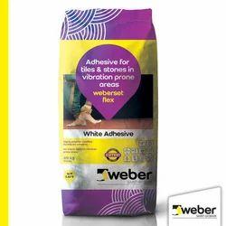 Weberset Flex White Improved Tile Adhesive