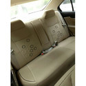 Brown Leather Car Seat Cover