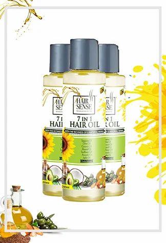 Hairsense 7-in-1 hair oil - best oil for hair fall, Rs 430 ...