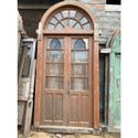 Intricately Carved Front Door for Resort