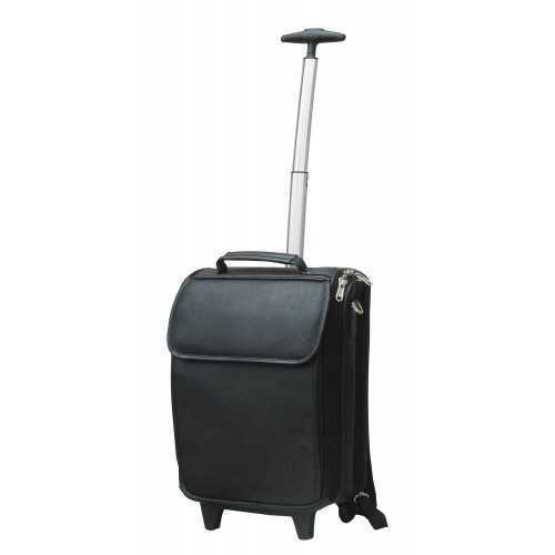 e23675f86 Bagns Black Designer Trolley Bag, Rs 600 /piece NS Products | ID:  15616659791