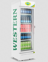 Off White Western Single Door Visi Cooler Src550