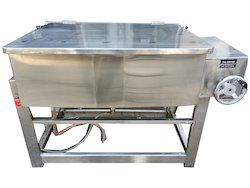 Stainless Steel Silver Tilting Braising Pan, For Industrial