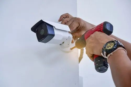 CCTV Installation Services, Mehsana, Anytime, Blue Eye Automation | ID: 22354560362