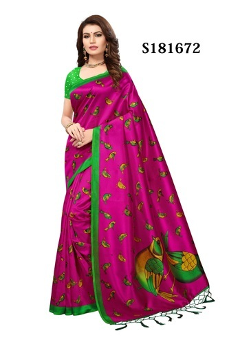 a53798b917 Bridal Lace Work Silk Saree And Blouse, Rs 470 /piece, KESHVI ...