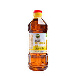 Go Earth Organic Organic Mustard Oil, Packaging Type: Plastic Bottle