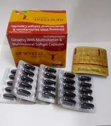 Ginseng With Multivitamin & Multimineral Softgel Capsule