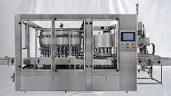 Automatic Plastic Bottle Rinsing Filling And Capping Machine