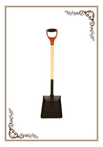 Square Mouth Shovel Wooden Handle Soft Grip Lavanya International