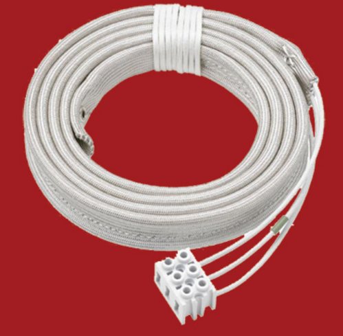 Fiber Glass White Heating Tapes, Size: 1 Meter To 5 Meters, for Heaters