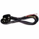 Black AC Power Cord