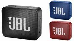 CE Black JBL Go 2 Bluetooth Speaker, Size: 7.12 X 8.6 X 3.16 Cm, 730 Mah