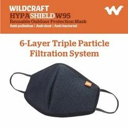 Reusable Wildcraft W95 Face Mask, Number of Layers: 6 Layers