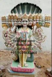 Virat Roop Krishna Marble Statue