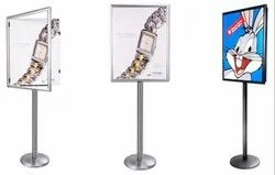 Lockable Poster Stand