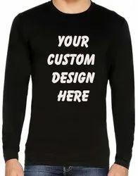 Customized Full Sleeve t Shirt
