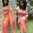 Banarasi Aari Work Saree