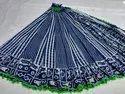 Block Print Casual Wear Bagru Printed Malmal Cotton Saree, 6.3 M (with Blouse Piece)