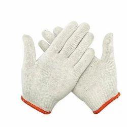 Full Finger Knitted Safety Hand Gloves