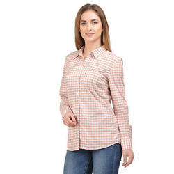 Surplus Checked Shirt for Women