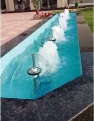 Long Water Body Outdoor Fountain