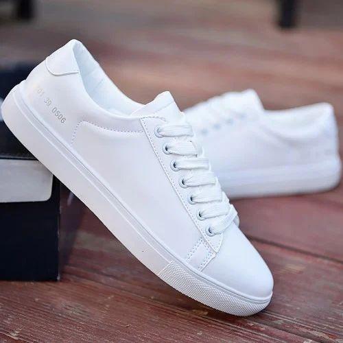 PVC Casual Shoes White Men, Rs 700