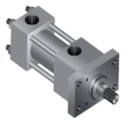 Head Rectangular Flange Cylinder