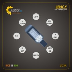 20 W Lency Street Light