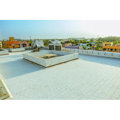 White Waterproof Terrace Tile Insulla Premium Thickness