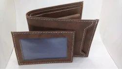 Brown Male Wallet, Size: Medium