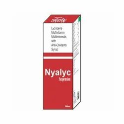 Lycopene Muiltivitamin Multiminerals with Anti Oxidants Syrup
