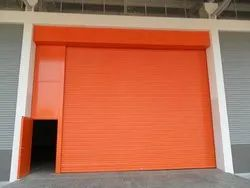 Metal Full Height Rolling Shutter