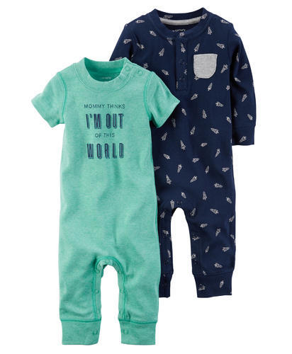 5213dcb7d Onesies & Rompers for Babie - Carters 2 Pack Baby-Soft Coveralls ...