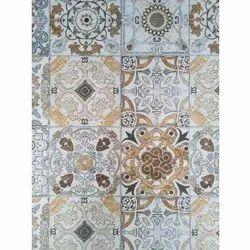 Rustic Rectangular Ceramic Designer Tile, Size: 30 * 60 In Cm, Thickness: 0-5 Mm