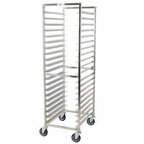 RBJ Stainless Steel Rack Trolley