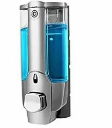 Touch Soap/Sanitizer Dispenser.