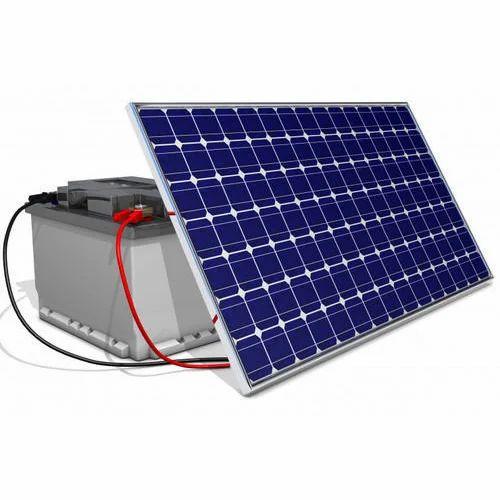 パネル付きソーラーバッテリー充電器、電圧:360 V DC、Rs 9000 /ユニット|  ID:17207525162